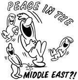 PEACE IN THE MIDDLE EAST T-SHIRT