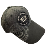 TLV DARK GREY BLACK CAP