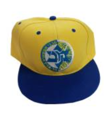 MACCABI TEL AVIV TEAM YELLOW STRAIGHT HAT