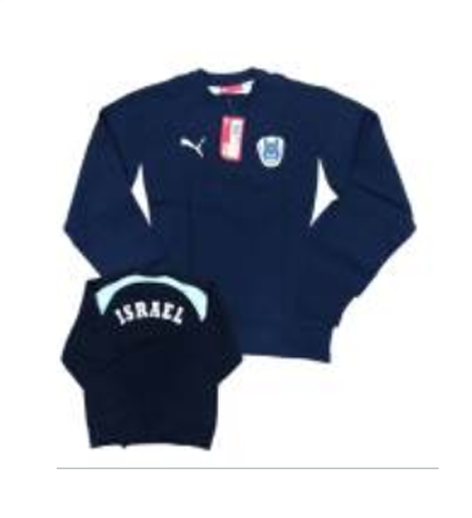 SWEATSHIRT-SOCCER NATIONAL TEAM NAVY BLUE