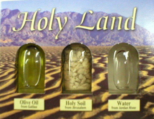 SOUVENIRS FROM HOLYLAND