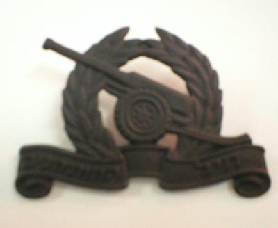 ARTILLERY CORPS BADGE