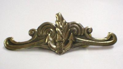 NAVAL OFFICER CHEST PIN