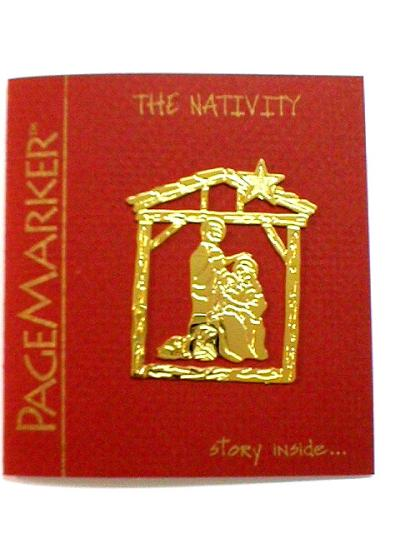 THE NATIVITY PAGE MARKER