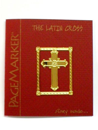 THE LATIN CROSS PAGE MARKER