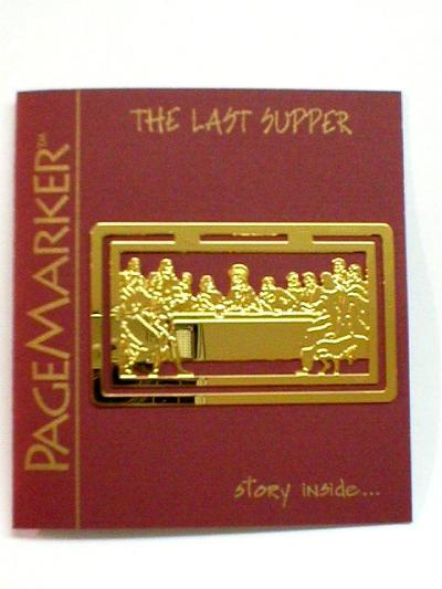 THE LAST SUPPER PAGE MARKER