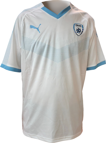 promo code c8291 08424 THE NEW 2019 ISRAEL SOCCER NATIONAL TEAM WHITE | PONGO